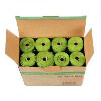 Buy cheap Corn Starch Compostable Pet Waste Bags , Flat Compostable Bin Liners from wholesalers