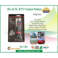 Buy cheap General Purpose Black RTV Silicone Sealant High Temperature , Fast Dry from wholesalers