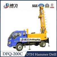 Buy cheap DFQ-200C truck mounted 200m DTH water well drilling rig for sale from wholesalers