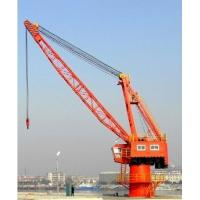 Buy cheap dredging equipment---FQ5-25 pedestal floating quayside crane from wholesalers