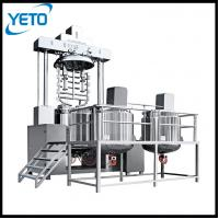 Buy cheap Automatic vacuum emulsifying mixing toothpaste making machine price from wholesalers