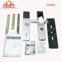 Buy cheap High Durability Card Sensor Door Lock , Rfid Hotel Key Card System Finger Touch Keypad from wholesalers