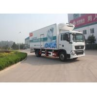 Buy cheap 140 HP Engine Refrigerator Box Truck , RHD 4X2 8 Ton Refrigerated Food Truck from wholesalers