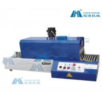 China PVC Automatic Shrink Machine Adjustable Temperature Control For Glass Bottles on sale