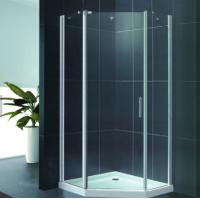 Buy cheap Customized Size Aluminium Shower Cubicles Polished Surface Side Hung Open from wholesalers