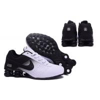 Buy cheap Nike Shox Deliver Shoes Black White Green Men's Sneakers Euro Size 40-46 US 8-12 Shipping With Original Box 80% OFF from wholesalers