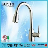 Buy cheap Single lever pull out sink mixer upc kitchen faucet from wholesalers