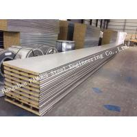 Buy cheap Recycled Usage Fire Resistant Rock Wool Sandwich Panels Easy Installation Roof Systems product