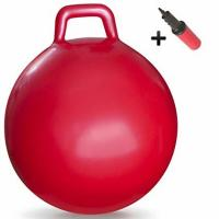Buy cheap Anti Slip Kids Jumping Ball Toy Bouncing Ball With Handle Light Weight 50cm product