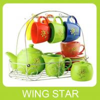 Buy cheap ceramic tea set from wholesalers