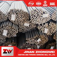 Buy cheap Forging and Casting Grinding Rod For Mining Low Breakage Long Time Work 50mm product