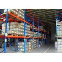 Buy cheap Logistics Pallet Rack Shelving , 2500 Kg Max Load Q345 Steel Shelving Racks product