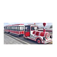 Buy cheap Shopping Mall Use Lovely Kids Electric Ride On Train , Trackless Train Ride from wholesalers