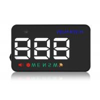 High Compatibility 3.5 Inch A5 Vehicle Heads Up Display Speedometer Overspeed Alarm
