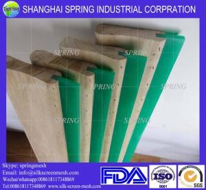 Buy cheap Free sample aluminum screen printing squeegee rubber handle/screen printing squeegee aluminum handle product