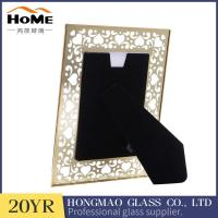 Buy cheap Promotional Gift 8 X 10 Glass Photo Frame , Metal Glass Photo Frame High End from wholesalers
