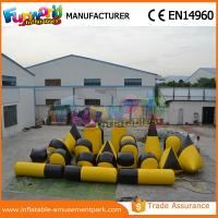 Buy cheap Customized PVC Inflatable Paintball Bunkers / Battle Bunker Sport Games Equipment from wholesalers