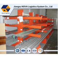 Buy cheap 75mm Adjustable Cantilever Warehouse Storage Rack With 500 Kg Per Arm from wholesalers