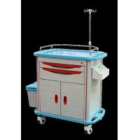 Buy cheap Ambulance Stainless Steel Medical Trolley , Stainless Steel Trolley With Drawers product