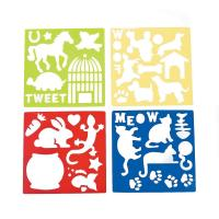 Buy cheap Plastic Pet Stencils - Includes Dogs, Cats, Lizards, Rabits, Bird Cages, Turtle, Paw Print from wholesalers