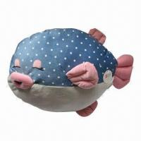 Buy cheap Stuffed Plush Pillow with Nemo Fish Shape, Available in 3 Colors from wholesalers