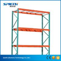 Buy cheap US heavy duty Warehouse storage teardrop pallet racking system from wholesalers