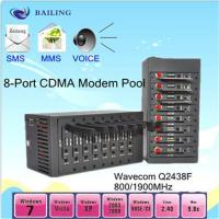 Buy cheap 8card slots usb SMS  modem pool with MC55I product