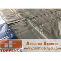 Buy cheap Temporary Noise Barriers 4 layer waterproof ,Fireproof,Weather Resistant Noise Barriers Blanket from wholesalers