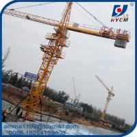 Buy cheap 380V/60Hz Power Supply Tower Crane QTZ5015 50M 1.5T Load Block Mast from wholesalers