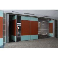 Buy cheap Residential Movable Sliding Partition Walls System with Aluminium Ceiling Track from wholesalers