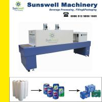 Buy cheap Semi-auto Shrink Packaging Equipment , Bottle Film Shrink Wrapping Machine from wholesalers