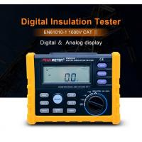 Buy cheap 2500V Digital Insulation Resistance Tester Auto Power Off Auto Calculate PI And DAR from wholesalers