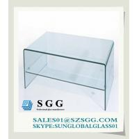 Buy cheap Glass Computer Desk (round,oval,square,rectangle) from wholesalers