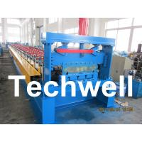 Buy cheap Steel Stucture Decking Floor Roll Forming Machine from wholesalers