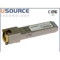 Buy cheap Cisco Compatible SFP+ Optical Transceiver 30m 10G Copper SFP RJ45 10GBASE-T SFP-10G-T from wholesalers