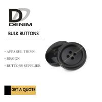 Buy cheap Fancy Extra large Black 3 inch black buttons Trims Plastic & Resin Bulk from wholesalers