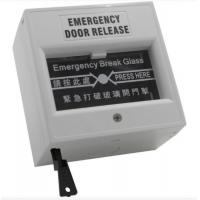Buy cheap Grey Emergency Exit Button Emergency Door Release Break Glass Unit For Fire Alarm from wholesalers