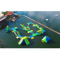 Buy cheap Huge Outdoor Inflatable Water Parks for Adult / Inflatable Water Games from wholesalers