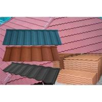 Buy cheap Classic Type Shingle Colored Stone Coated Metal Roofing Tiles from wholesalers
