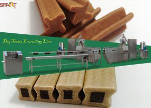 China 3450x900x2200mm 81kw 100kg/hr Pet Treat Machine on sale