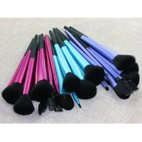 Buy cheap make up brushes sigma Cosmetic Blush Kit 11pcs black Makeup Brushes Aluminum tube from wholesalers