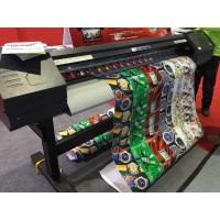 Buy cheap 160cm Eco Solvent Printer Epson DX7 Print Head For Wall Paper Printing from wholesalers