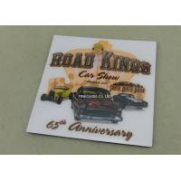 Buy cheap Personalized Metal Card Souvenir Badges Offset Printing Emblems from wholesalers