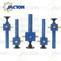 Buy cheap China JACTON China QWL10 industrial worm screw lifting jack from wholesalers