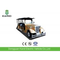 Buy cheap Custom 11 Seater Antique Electric Cars Sightseeing Vehicle For Airport Reception from wholesalers