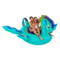 Buy cheap Fun 8ft Sea Monster Inflatable Pool Floats Lounge Raft Swim Party Toys from wholesalers
