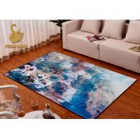 Anti Flammability Modern Floor Rugs For Bedroom Living Room Various Pattern