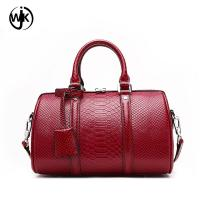 Buy cheap 2018 handbag pillow shape genuine leather bag ladies new design fashion quilted handbag from wholesalers