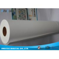 Buy cheap Inkjet Matte Water Resistant Polyester Fabric Roll 220Gsm For Pigment Digital Printing from wholesalers