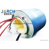 2 ~ 72 Conductors blue  through bore electrical slip ring / brush slip ring